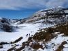 el pico Caldoveiro desde el Alto Santiago