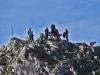 Un grupo de la Curuxa en el Pico