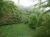 a pesar del mal tiempo el paisaje  de gran belleza