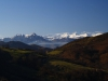Peña Mea y por detras cumbres de la Cordillera