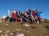 Un grupo de La Curuxa en el pico Torre