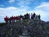 La Curuxa en la cumbre del pico Chao del Rozo