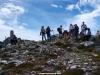 grupo de la  Curuxa en el pico el Negrón