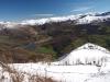 Rioseco ,embalse , el valle y cumbres que rodean