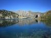 refugio y lago Dera Restanca