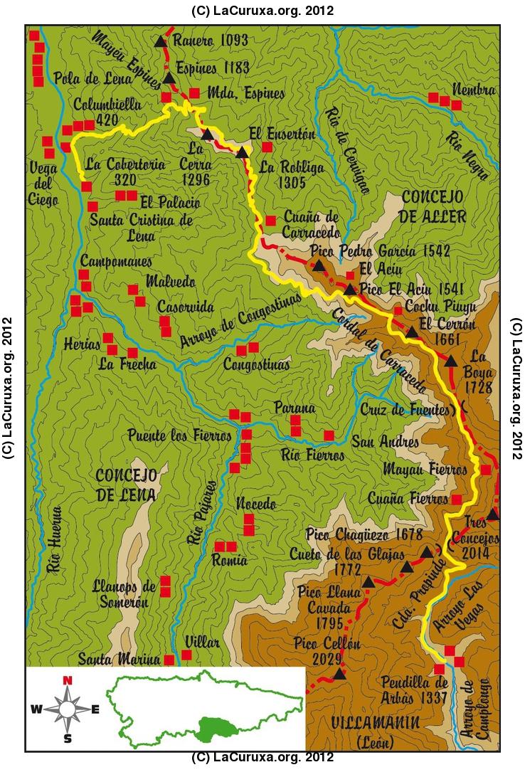 2012-06-23-PENDIELLA-VIA ROMANA DE LA CARISA-LA COBERTORIA