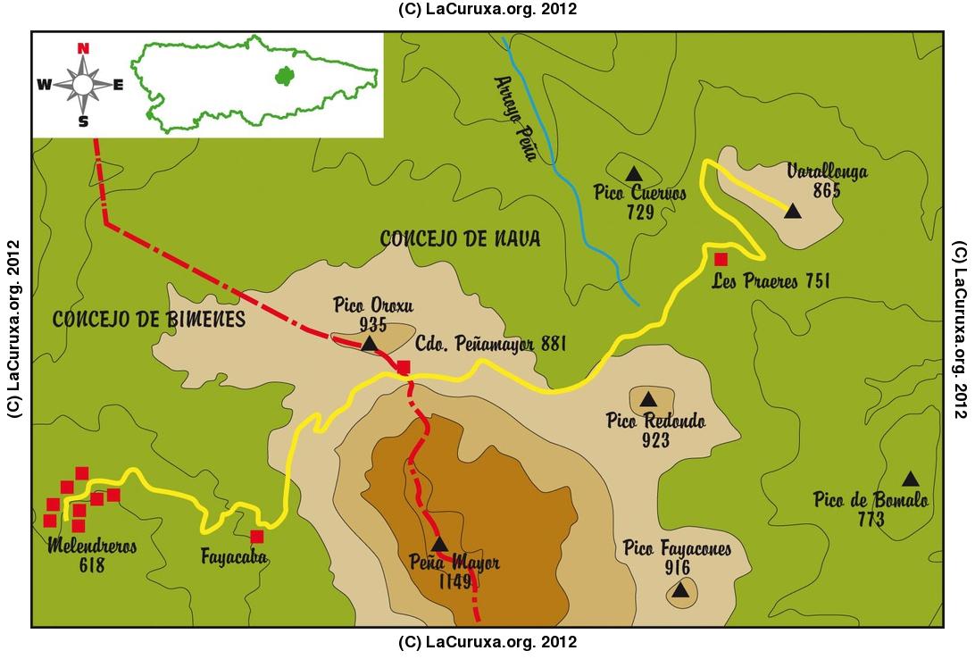 2012-12-16-MELENDREROS-PICO LA VARALLONGA (BELEN DE CUMBRES)
