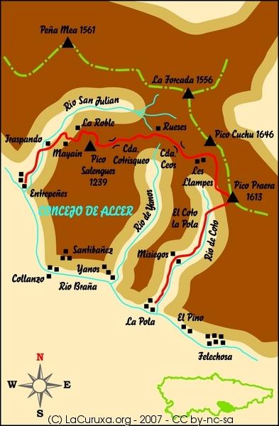 lacuruxa.org asturias rutas 2007 aller