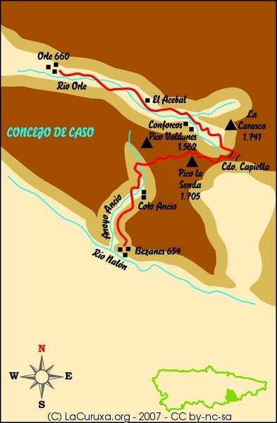 lacuruxa.org rutas 2007 asturias caso