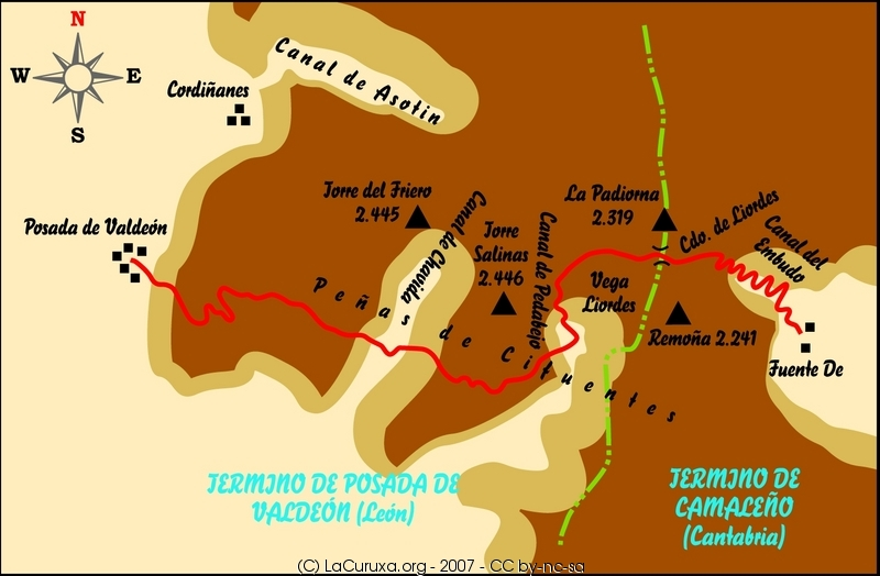 lacuruxa mapas rutas 2007